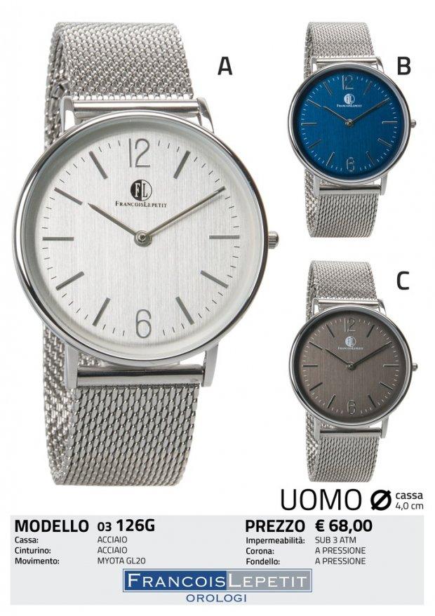 scegli il più recente vendita scontata acquista il più recente Francois Lepetit Watches - Orologi SOLO TEMPO - 03-126G
