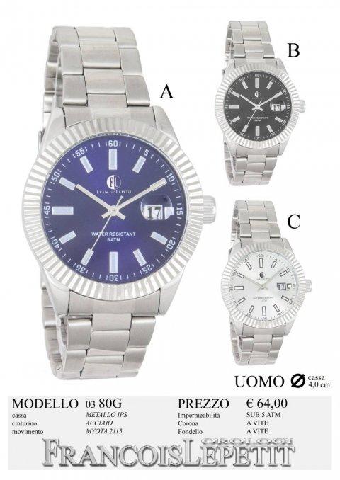 vendita economica scarpe di separazione grande varietà Francois Lepetit Watches - Orologi SOLO TEMPO - SOLO TEMPO