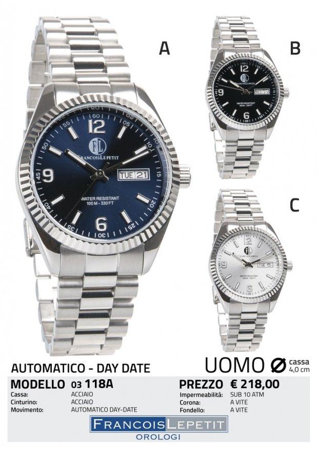 speciale per scarpa imballaggio forte intera collezione Francois Lepetit Watches - Orologi AUTOMATICI - 03-118A